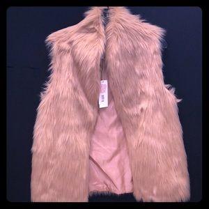 Blush Fur Vest